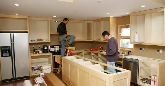 kitchen installation process